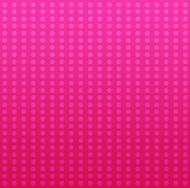 水玉 ピンク コミカルなグラデーション 背景 テクスチャ.jpg