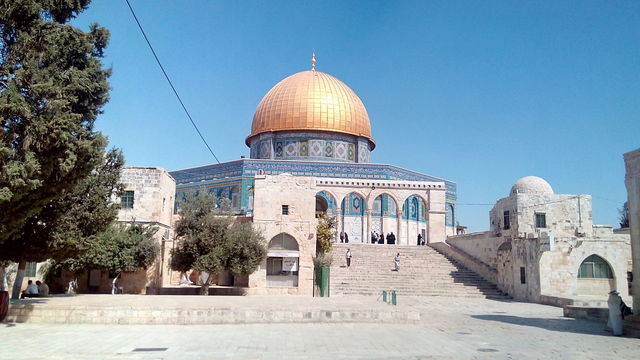 イスラム教の聖地 岩のドーム.jpg